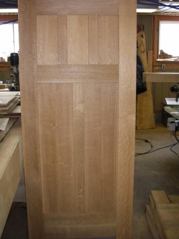 Creating White Oak Interior Doors