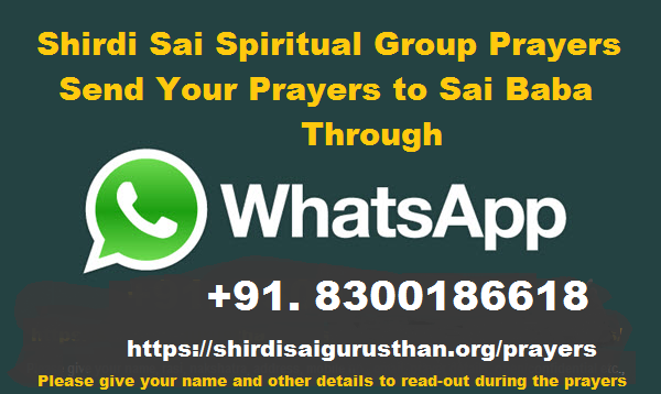 Prayer Request through Whatsapp