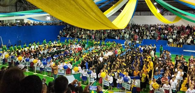 Roncador realiza abertura dos 63º Jogos Escolares do Paraná