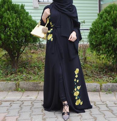 abaya-pour-mohajaba-modèle-2018