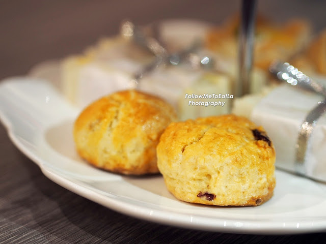 Baked Cranberry & Blueberry Scones