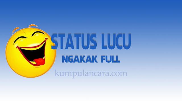 Status FB Lucu | Gokil | Ngakak