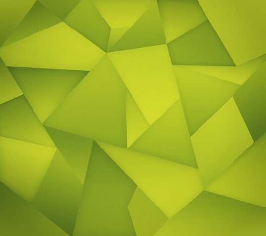 Green Nexus Triangles Wallpaper for Android