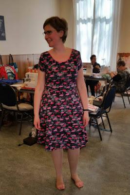 Lady skater dress