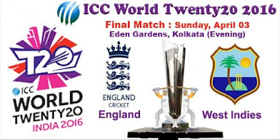 Prediction England vs West Indies, Final Series: ICC World T20, 2016 ...