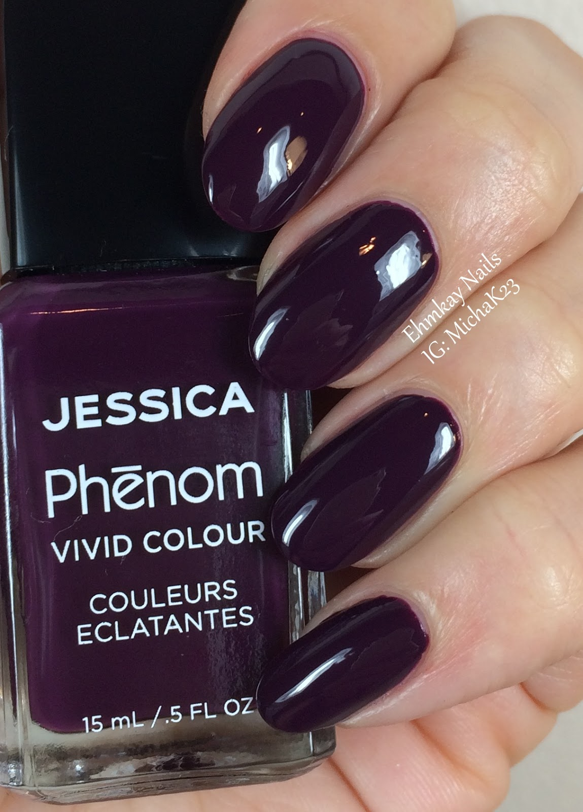 ehmkay nails: Jessica Cosmetics Phenom Colors: Winter 2015 Swatches ...