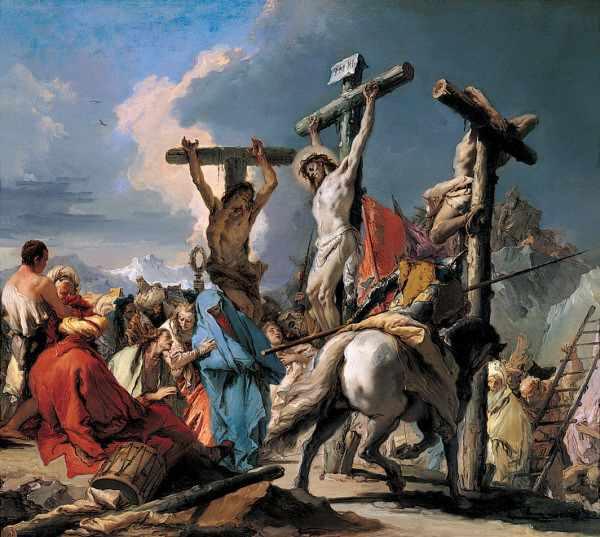 ¿Por qué Jesús fue crucificado a la hora tercera y expiró a la hora novena?