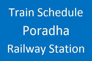 Poradha kustia train schedule