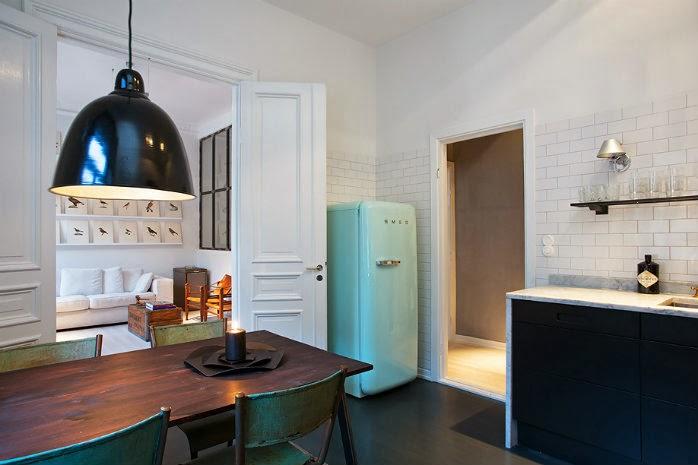 Apartamento escandinavo de soltero la bici azul blog de for Diseno de apartamento de soltero