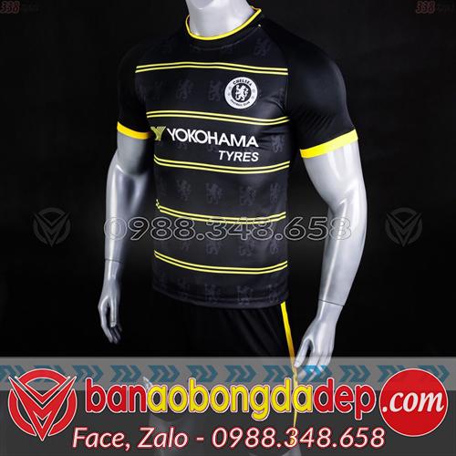 Áo Chelsea Đen 2019 Training 7