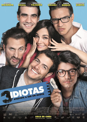 3 Idiotas 2017 DVD Custom TSHQ NTSC Latino