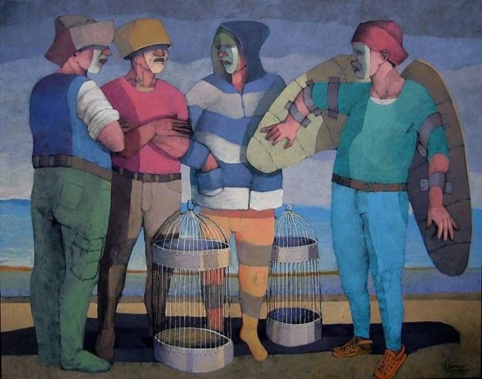 Костариканский художник. Jorge Crespo Berdecio