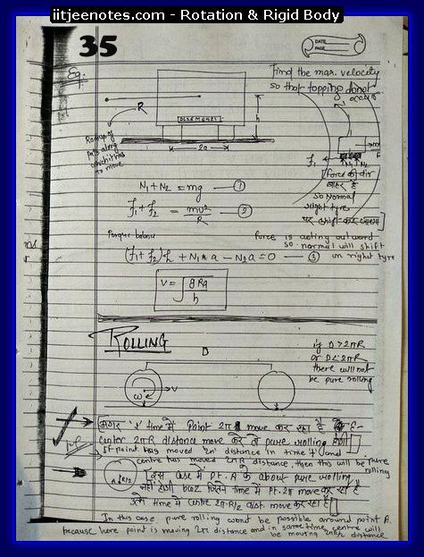 rotational notes physics5