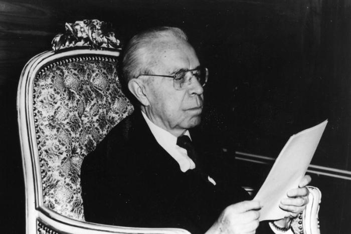 Víctor Paz fue presidente durante 12 años, seis meses y 21 días / ARCHIVO WEB