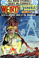 Weird Western Tales v1 #13] jonah hex dc comic book cover art by Tony Dezuniga