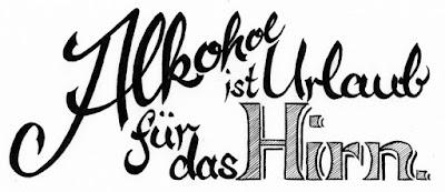 Alkohol ist Urlaub für das Hirn | www.zeitunschaerfe.de