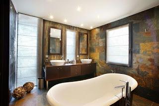 cuarto de baño elegante