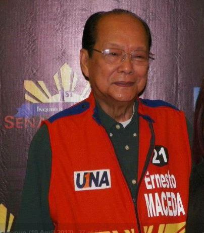 Ernesto Maceda dead at 81