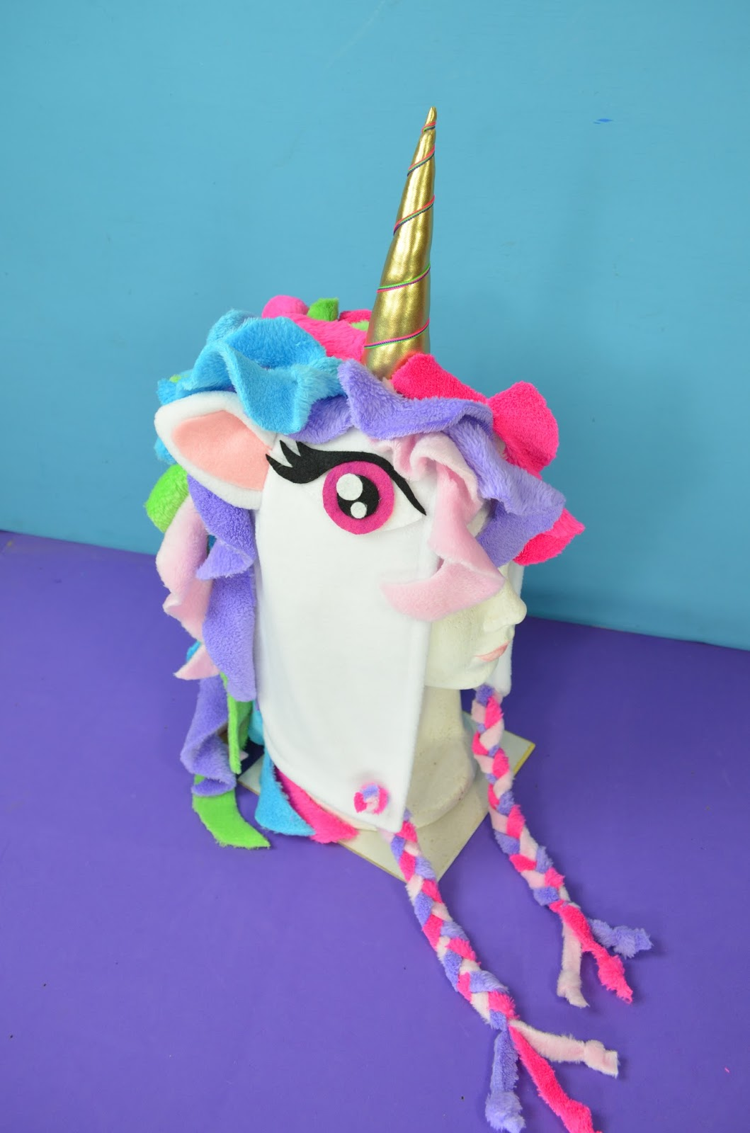 mony4you diy gorra de unicornio   unicorn hat