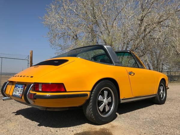 1973 porsche 911 targa for sale buy classic volks. Black Bedroom Furniture Sets. Home Design Ideas