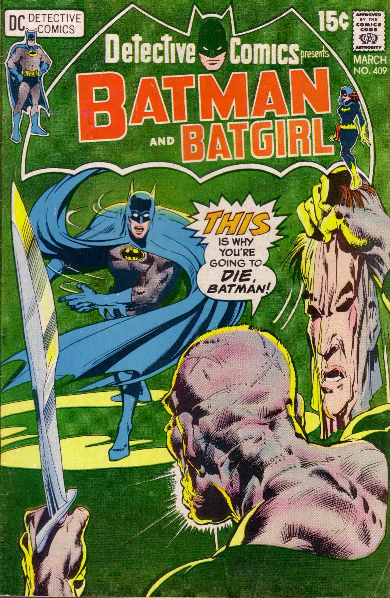 Detective Comics (1937) 409 Page 0