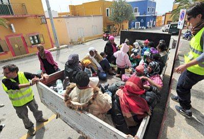 Linosa refugees #1