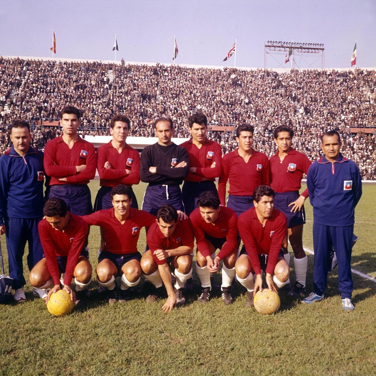 Formación de Chile ante Alemania Federal, Copa del Mundo Chile 1962, 6 de junio
