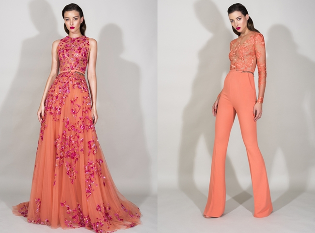 Elegant, romantic and ladylike designer looks