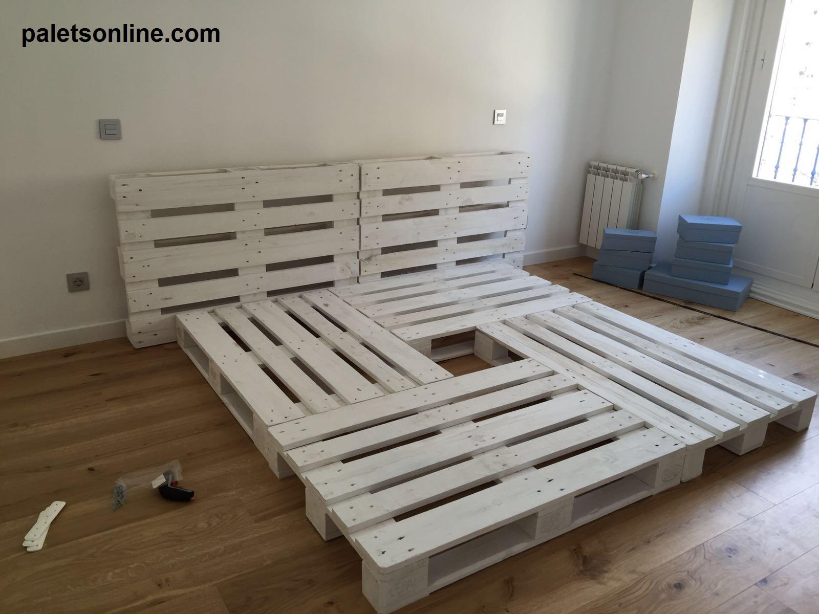 Muebles con palets Cmo hacer tu cama de palets en 3 simples pasos