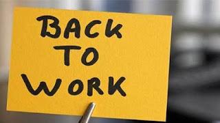 Motivasi Kerja Setelah Liburan