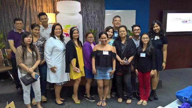 Pinoy Health and wellness and lifestyle bloggers with the interviewees, Dr. Marjhoree and Ms.Madelyn.