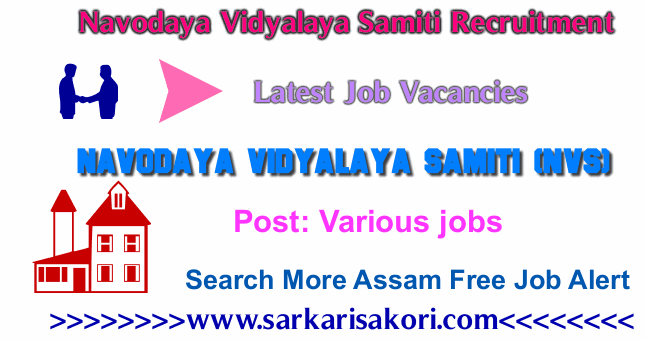 Navodaya Vidyalaya Samiti Recruitment 2017 Various jobs