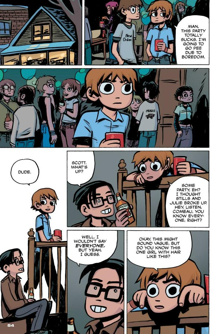 Read online Scott Pilgrim comic -  Issue #1 - 48