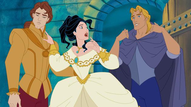 Pocahontas 2 dylemat miłosny