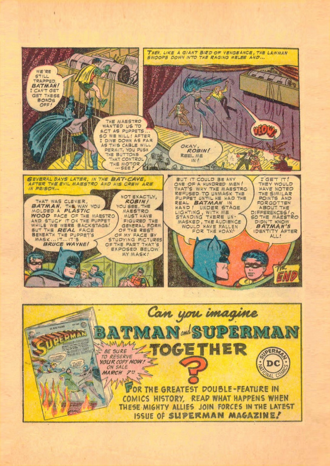 Read online Detective Comics (1937) comic -  Issue #182 - 13