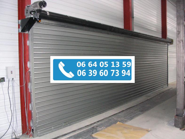 Rideau metallique garage best rideau mtallique serrure for Rideau electrique garage