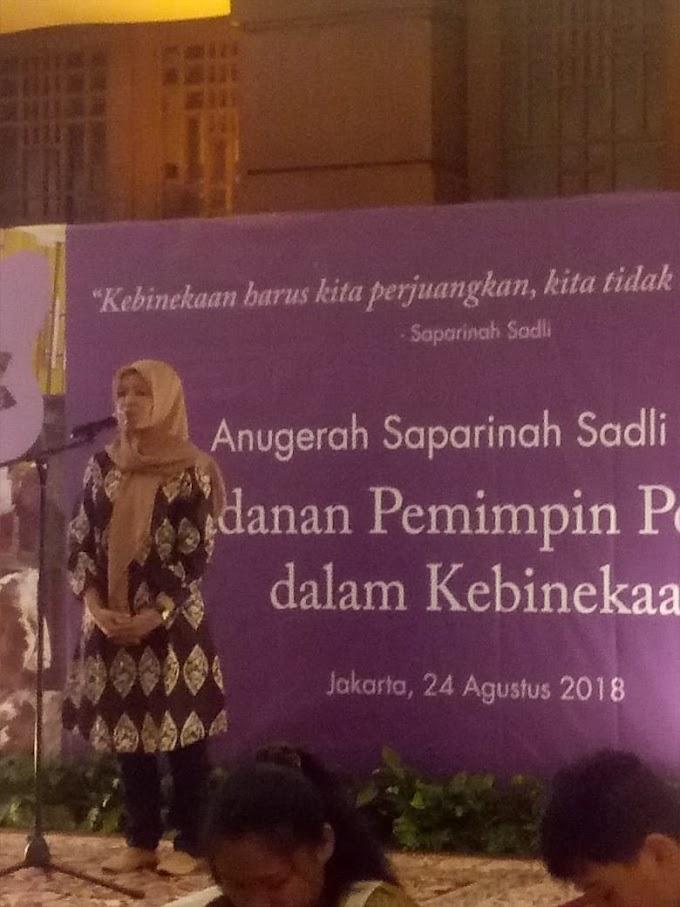 Masnuah, Penerima Penghargaan Saparinah Sadli Award 2018