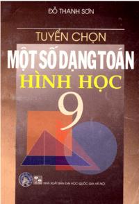 Tuyển Chọn Một Số Dạng Toán Hình Học 9 - Đỗ Thanh Sơn