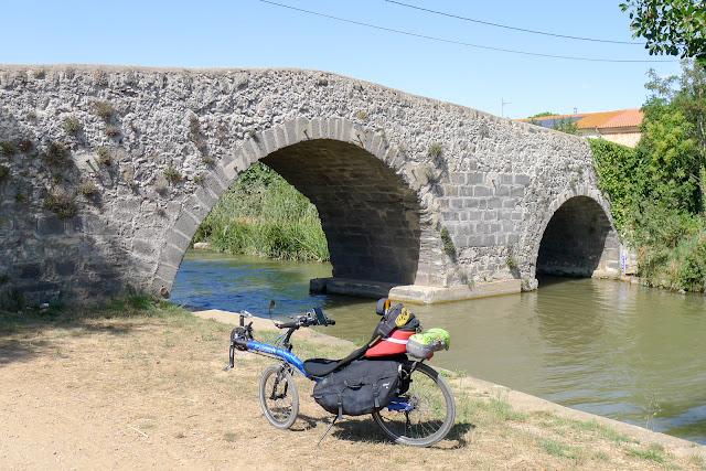De Paris à Narbonne en vélo, Canal du Midi
