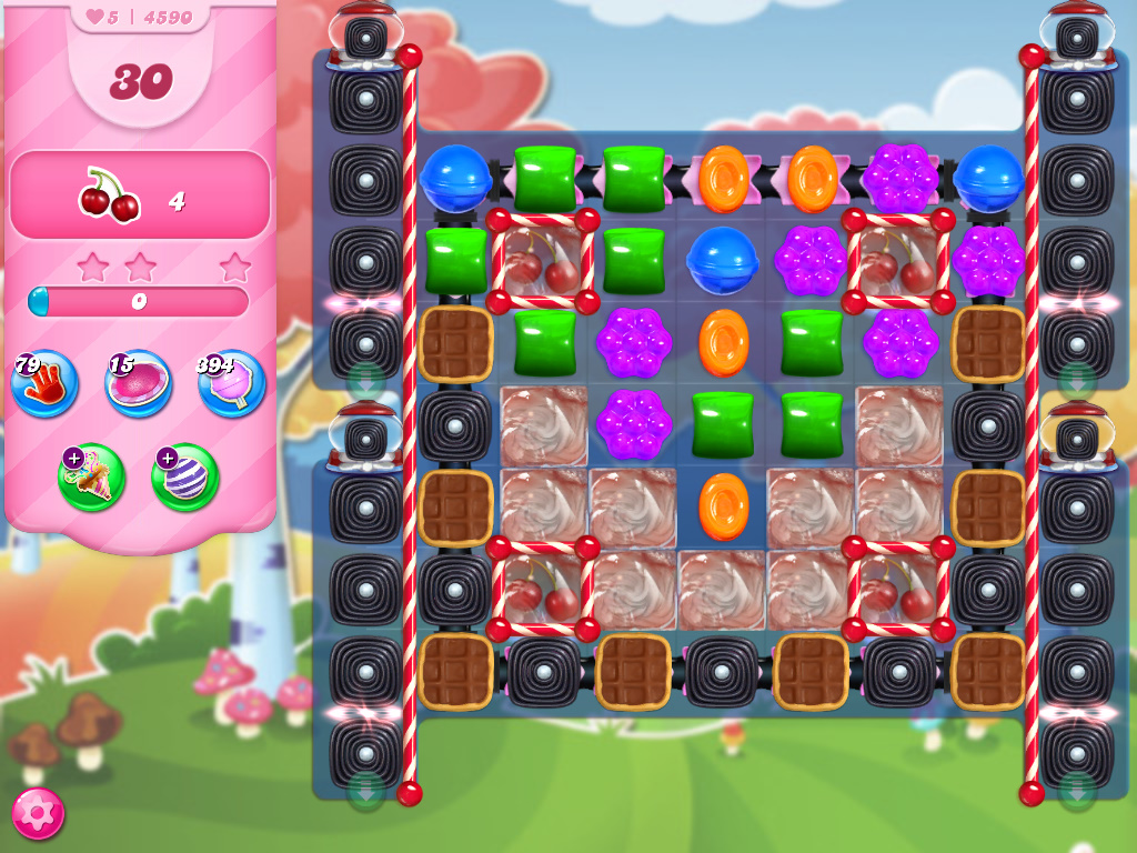 Candy Crush Saga level 4590
