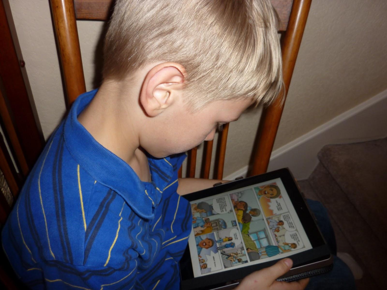 Free iPad App - Biography Comics for Kids | Free Fun in Austin