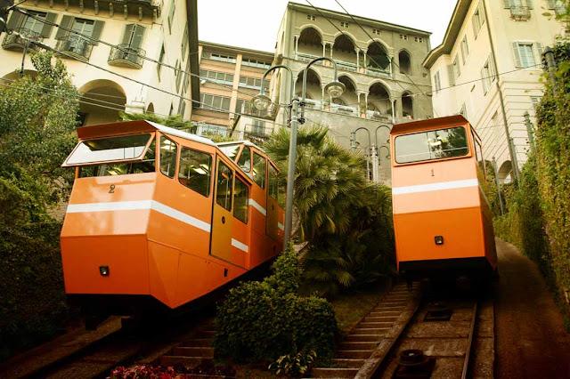Funicular de Bérgamo - Italia