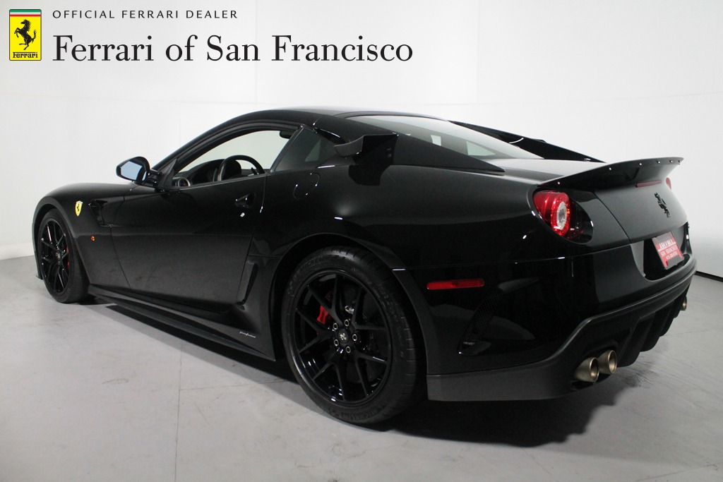 Black Ferrari 599 GTO With XX Components Is A Collector's ...