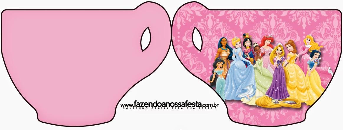 Princesas Disney: Invitaciones para Imprimir Gratis. | Ideas y ...
