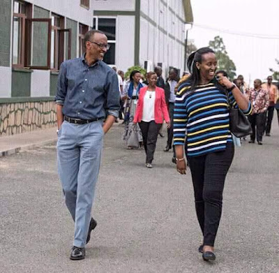 When a nation is at peace, even a whole president can take a swag out with his wife to take fresh air.