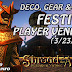 Festival Player Vendors - Deco Gear and More (3/23/2017) 💰 Shroud Of The Avatar (Market Watch)