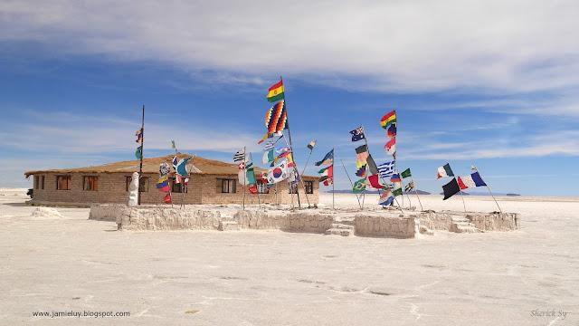 Abandoned Original Salt Hotel, Uyuni Salt Flats, Bolivia