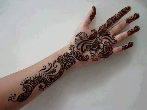Awesome Indian Mehndi Designs Pics | Simple Indian Henna ...