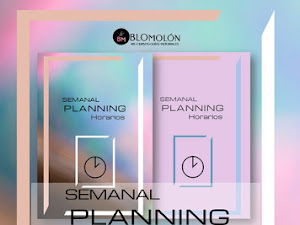 Semanal Planning Ideas-Horarios Gratuitos