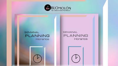 Semanal Planning Ideas-Horarios Gratuitos